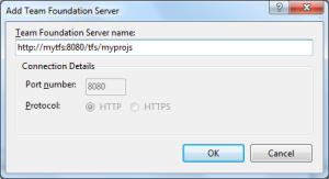 Add Team Foundation Server