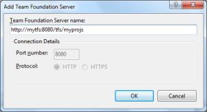 Add Team Foundation Server